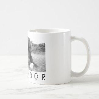 Labrador B&W Classic White Coffee Mug