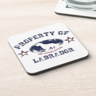 Labrador Beverage Coaster