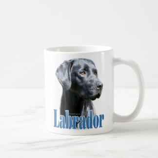 Labrador (black) Name Coffee Mugs