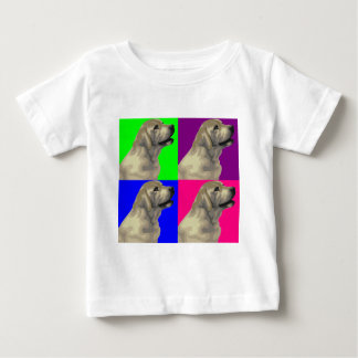 Labrador Bright Color Collage Baby T-Shirt