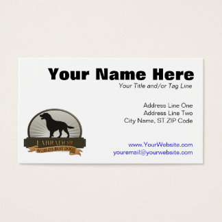 Labrador Business Card