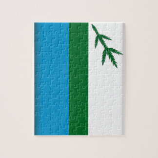 Labrador (Canada) Flag Puzzle