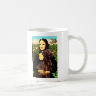 Labrador (Chcolate) - Mona Lisa Mug