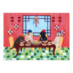 Labrador Chinese Restaurant Party Invitations