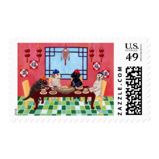 Labrador Chinese Restaurant Stamps