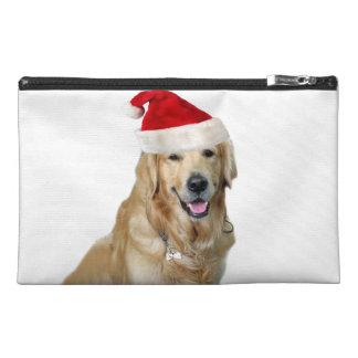 Labrador christmas-santa claus dog-santa dog-pet travel accessory bag
