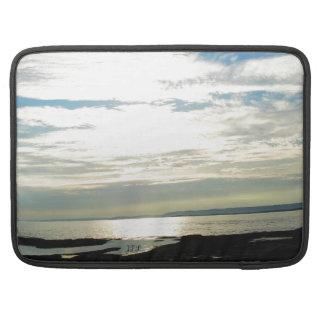 Labrador Coast Blue Skies and Beach Sleeve For MacBook Pro