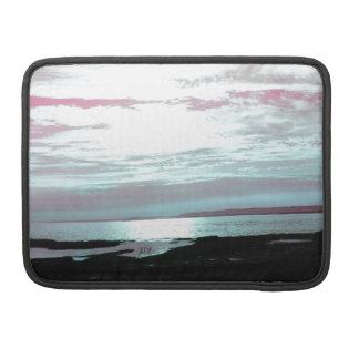 Labrador Coast Pink Skies and Beach MacBook Pro Sleeves