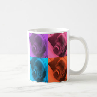 Labrador colorido taza de café