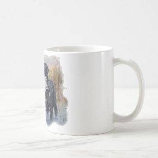 Labrador con la caza del pato del pato taza de café