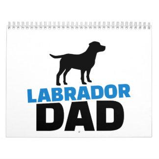 Labrador Dad Calendar