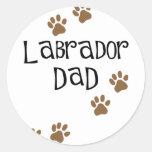 Labrador Dad Sticker