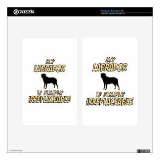 Labrador DOG designs Kindle Fire Decal