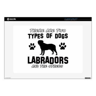 Labrador dog Designs Skin For Laptop