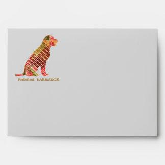LABRADOR Dog : Elegant Majestic Animal Envelope