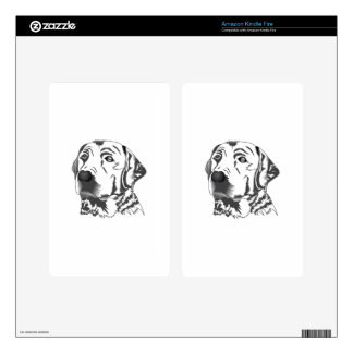 LABRADOR DOG DECAL FOR KINDLE FIRE