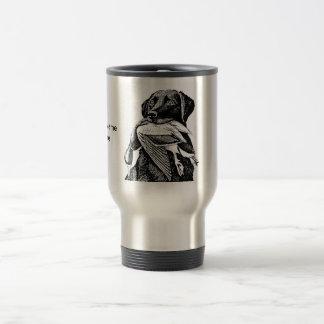 Labrador duck hunting mug