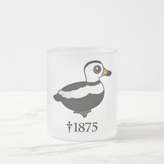 Labrador Duck (RIP) Frosted Glass Coffee Mug
