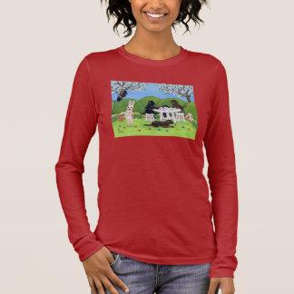 Labrador & Easter Eggs Long Sleeve T-Shirt