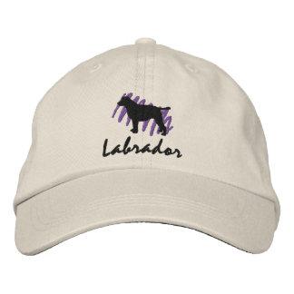 Labrador garabateado gorra de béisbol