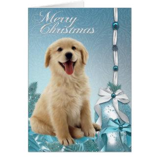 Labrador Golden Retriever Christmas Cards
