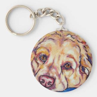Labrador/Golden Retriever Mix Keychain