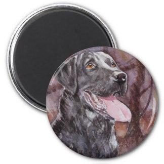 Labrador. Gun Dog 2 Inch Round Magnet