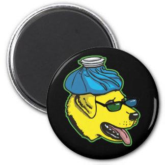 Labrador Hangover Gear Magnet