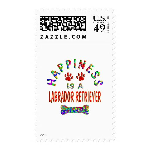 Labrador Happiness Stamps