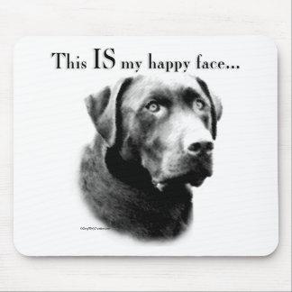 Labrador Happy Face Mouse Pad