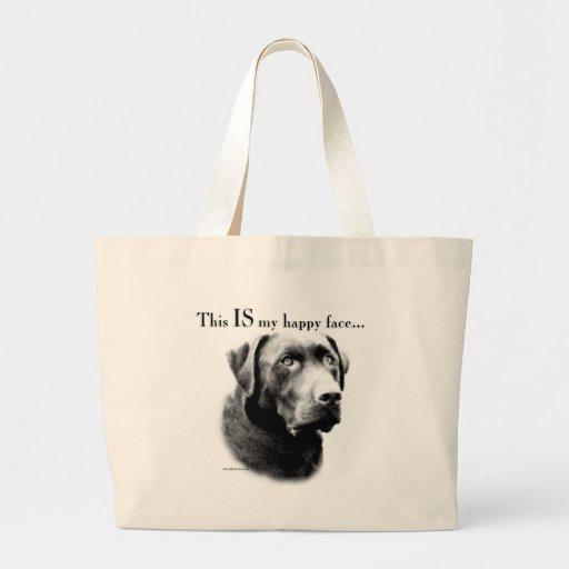 Labrador Happy Face Tote Bag