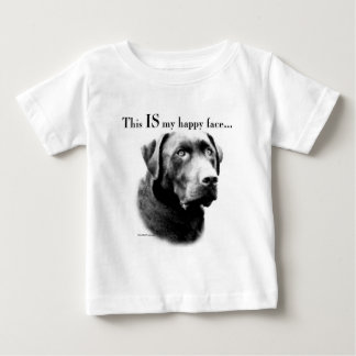 Labrador Happy Face T Shirts