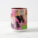 Labrador Kitchen Party Painting Coffee Mug