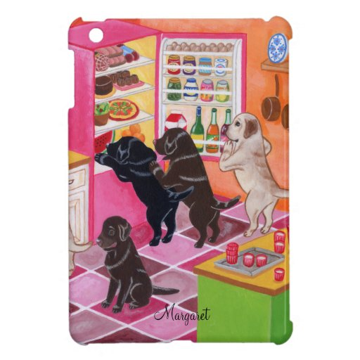 Labrador Kitchen Party Painting Cover For The iPad Mini
