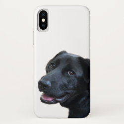 Case-Mate Barely There iPhone X Case with Labrador Retriever Phone Cases design