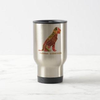 LABRADOR : Majestic Elegant Dog 15 Oz Stainless Steel Travel Mug