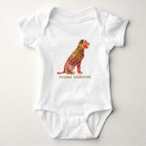 LABRADOR : Majestic Elegant Dog Baby Bodysuit