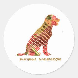 LABRADOR : Majestic Elegant Dog Classic Round Sticker