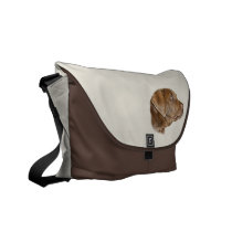 Labrador Messenger Bag, Customizable Messenger Bag