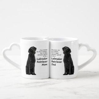 Labrador Mom and Dad Lovers Mugs