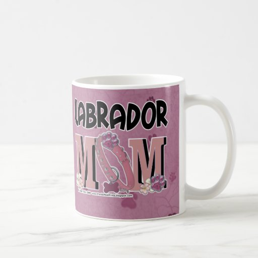 Labrador MOM Classic White Coffee Mug
