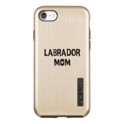 Incipio DualPro Shine iPhone 7 Case with Labrador Retriever Phone Cases design