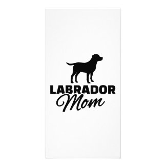 Labrador Mom Photo Card