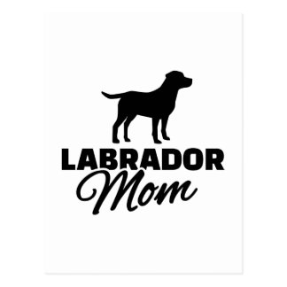Labrador Mom Postcard