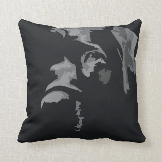 Labrador negro almohada