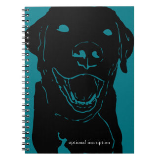 Labrador Note! Optional Custom Inscription Notebook