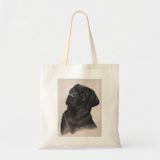 Labrador Painted in Watercolour Tote Bag