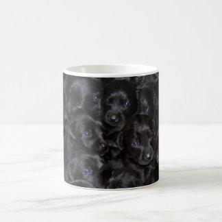 Labrador puppies, black huge litter.. coffee mug