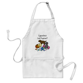 Labrador Puppies from Eggs Adult Apron