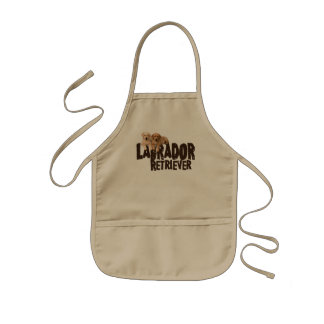 Labrador Puppies Kids' Apron
